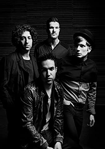Fall Out Boy 6 Joe Trohman Pete Wentz Patrick Stump Andy Hurley Great Rock Metal Album Cover Design Music Band Best Photo Picture Unique Print A4