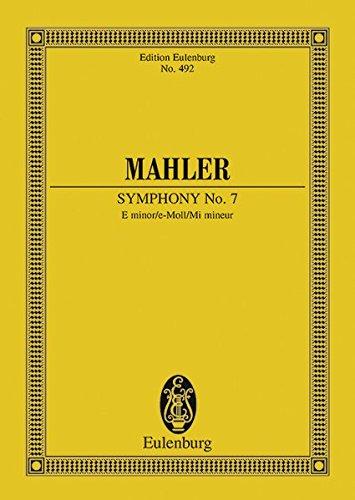 Sinfonie Nr. 7 e-Moll: Orchester. Studienpartitur. (Eulenburg Studienpartituren)