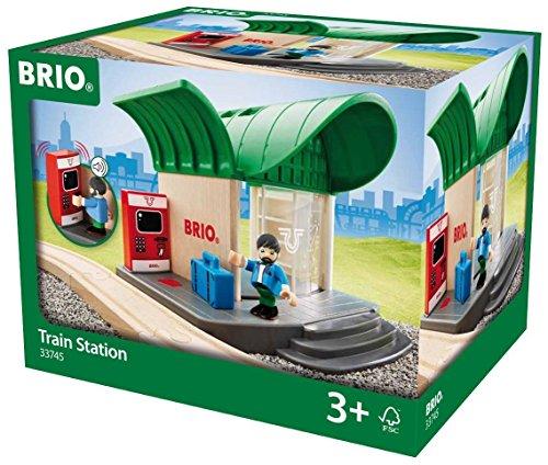 BRIO 33745 - Bahnhof mit Sound, Transport Verkehr