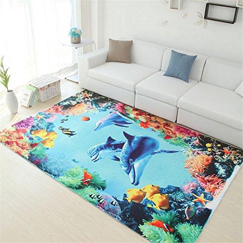 Im europäischen Stil Pflanze Blume Küche Bad rutschfeste Teppich (Reinigung Teppich Hoover)
