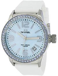 TW Steel Marc Coblen Edition mit Silikonband 42 MM Blue MOP/White MCPR11