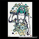 zgmtj Autocollant de Tatouage de Bras de Grande Image de Fleur Autocollant de...