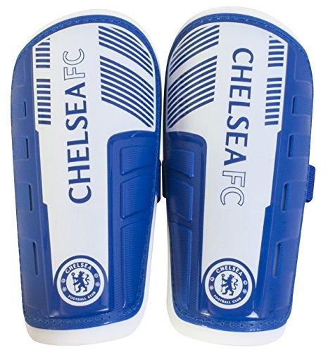 Chelsea Fc Schienbeinschoner Kinder Kinder Schienbein Bremsbeläge Blau & Weiß