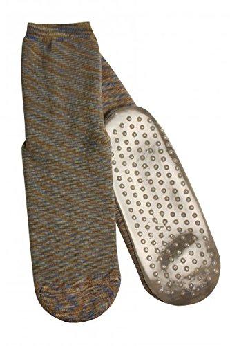 Damen Abs Socke (39/42, Braun)