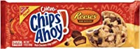 Nabisco Chips Ahoy Chewy Made with Reese's Peanut Butter Cup Cookies, 269g