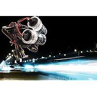 Bidyn (TM) auto lampadine di ricambio notte luce alta fonte di luce Xenon HID lampadine (Lampada Proiettore Holder)