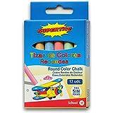Supertite 4985Pack de 12tizas de color