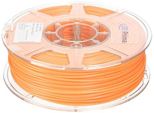 PrimaPLA™ Filamento para impresora 3D - PLA - 3mm - 1 kg bobina - Naranja