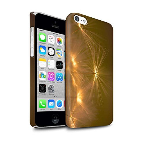 STUFF4 Matte Snap-On Hülle / Case für Apple iPhone 7 Plus / Lila Muster / Life Light Kollektion Orange