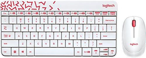 Logitech Mk240 Kablosuz Q Tr Combo Keyboard Set, Beyaz