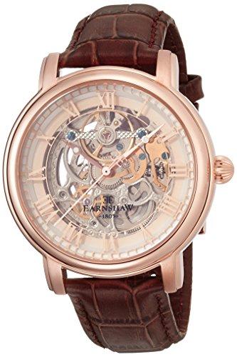 Thomas Earnshaw ES-8040-03 - Reloj para hombre con correa de piel, color negro