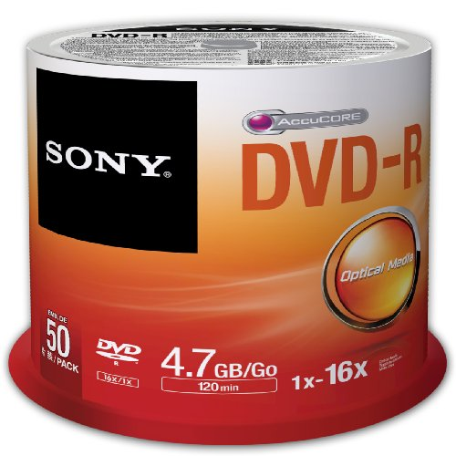 Sony Dvd-R 4,7 Gb / 120 Min