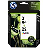 HP 21/22 Combo-pack Inkjet Print Cartridges 21/22 Combo-pack Inkjet Print Cartridges, 5 - 95 %, 15 - 35 °C, 5 - 95 %