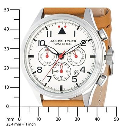 James-Tyler-Herren-Armbanduhr-Quarz-Chronograph-mit-Lederarmband-JT706-2
