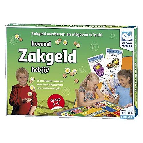 Clown Games 0607084 Niños Juego de Mesa de Aprendizaje - Juego de Tablero (Juego de Mesa de Aprendizaje, Niños, 6 año(s), 55 Pieza(s), Interior, Alemania)