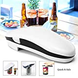 heDIANz,Electric Can Opener Portable Automatic One Touch Tin Bottle Battery Operate Tool