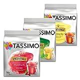 Tassimo Twinings Tee Set Deluxe, Probierset mit 3 Tee Sorten, 48 T-Discs