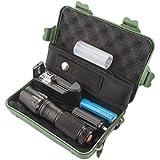 Linternas, Oyedens G700 X800 Xml T6 Zoomable LED Linterna Táctica 18650 Batería + Cargador + El Caso