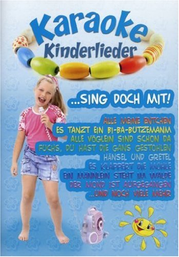 Karaoke Dvd Kinder (Karaoke Kinderlieder)