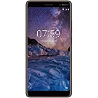 "Nokia 7 Plus 4G 64GB Negro, Cobre - Smartphone (15,2 cm (6""), 64 GB, 12 MP, Android, O, Negro, Cobre)"