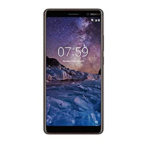 Nokia 7 Plus 64 GB UK SIM-Free Smartphone - Black/Copper