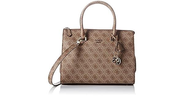 Guess Arianna, sac à main femme marron marron, 16x23x31