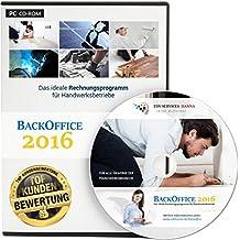 BackOffice 2016 Professional (Lizenzdauer: 1 Jahr) - Rechnungsprogramm für Handwerker, Maler & Lackierer, Fliesenleger, Bodenleger, Dachdecker, etc.