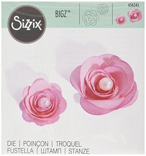 Sizzix Bigz Fustella - Fiori, 3-D di Beth Reames