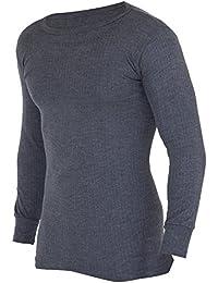 Floso - Camiseta Interior/básica de Manga Larga térmica para Hombre (Gama Alta Viscolatex)