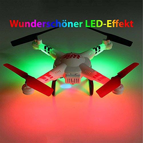 Wltoys V686G 2,4 G 4CH Echtzeit Übertragung FPV Drohne UFO Quadcopter mit 2MP HD Kamera Headless Mode - 4