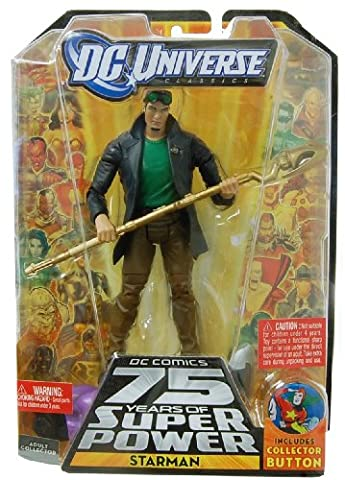 DC Comics Universe Classic Toy - 6 Inch Action Figure Starman - Jack Knight Modern Variant