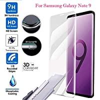 3D Full Cover Curved Protector Screen Tempered Glass Film For Samsung Note 9