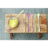 Buntes Eislöffelset 'Sundaes Spoon' - aus Bambusfasern und Mais