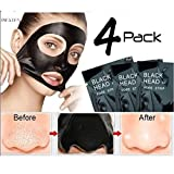#6: Pilaten Black head White head Remover Charcoal Deep Cleansing Purifying Peel Acne Mask (4 Pack)