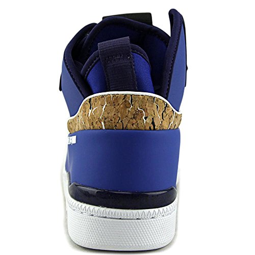 Alexander McQueen By Puma MCQ Brace Mid Toile Baskets Surf The Web-Astral Aura-Wht