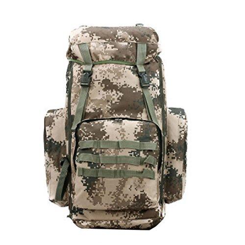 Yy.f50 + 5L Große Kapazität Rucksack 3-Wege Im Freien Tarnung Multi-Stamm Militärischer Taktischer Rucksack Reiserucksack. 3 Farben B