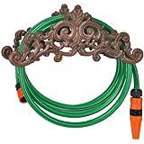 57026 Support pour flexible de jardin en fonte 35,5 x 14 x 15,5cm