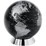 Globe collection collection globe, tirelire globe, 20 cm, noir