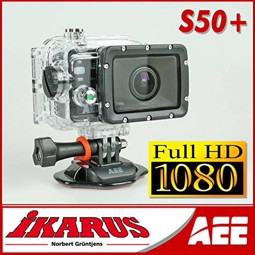 AEE S-50+ 2MP Full HD WLAN 165g Actionsport-Kamera - Actionsport-Kameras (Full HD, 1920 x 1080 Pixel, 60 FPS, 1920 x 1080 Pixel, MOV, 1080i,1080p,480p,720p,960p) (S50 Camcorder)