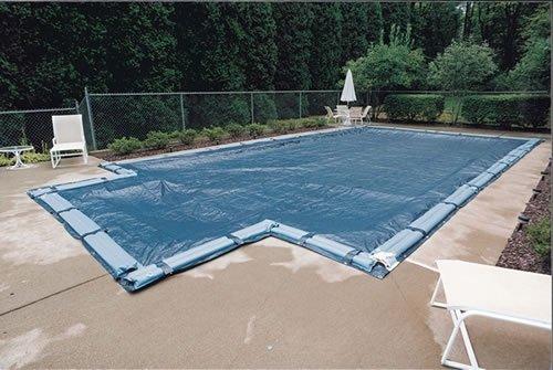 Gli Aquacover Kombi Plus Bound massiv rechteckig Winter Cover System für InGround Pools (Gli Cover Winter Pool)