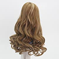 Toygogo 2pcs Doll Wig Long Hair Wavy For Supply Of
