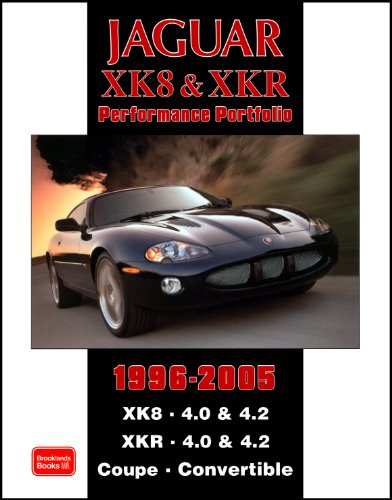 Preisvergleich Produktbild Jaguar XK8 & XKR Performance Portfolio 1996-2005: XK8. 4.0 & 4.2 XKR. 4.0 and 4.2 Coupe. Convertible