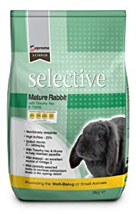 Science Selective Mature Rabbit Food 2kg