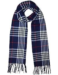 6727c2f70c38 Damen Herren Karoschal klassisch langer Schal Kariert Schals Tücher mit  Fransen weich Soft Scarf