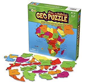 GeoToys - Geopuzzle Africa & The Middle East