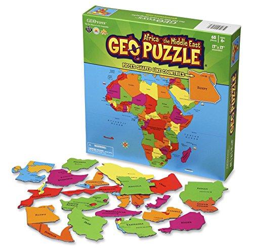 GeoToys 10300 - GeoPuzzle - Africa