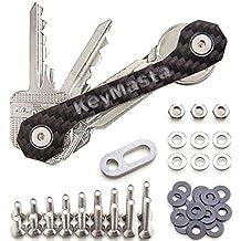 keymasta para Precio Especial (50% descuento) – Carbon Key Organizador con sistema de fijación especial, llave Organizador hasta 18 llaves – Fabricado en Alemania. KeyMasta - Edge