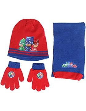 PJ Masks gorro con guante y bufanda conjunto pyjamasque