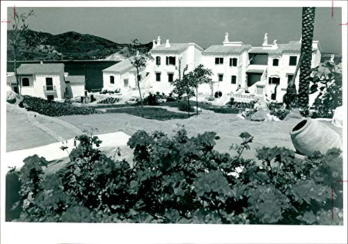 Vintage Photo of Country Club Apartments at Playas de Fornells. (Club Playas)