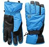 Salomon Gloves Force Dry Herren Handschuhe, M M Schwarz (Hawaiian Surf/Black)